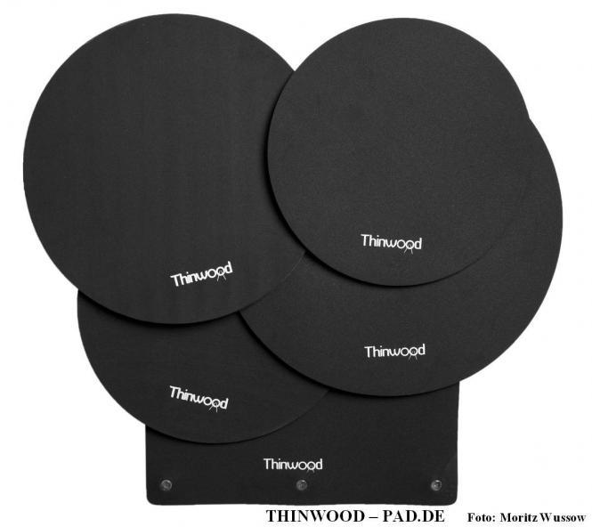 "Thinwood Fusion Basic Set  10""/12""/14""/14"" SD/BD-Universal mit Saugnäpfen"